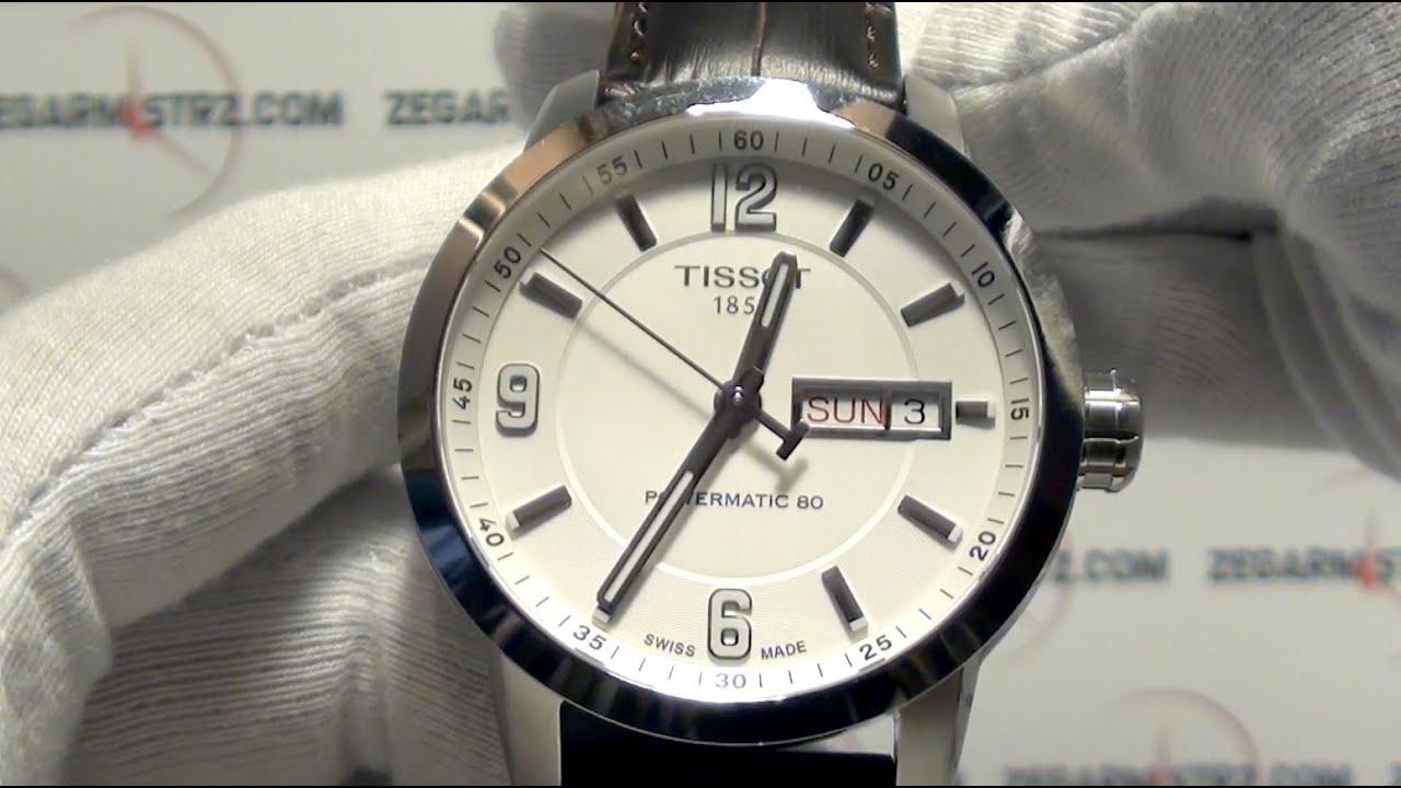 Tissot Prc200 Powermatic 80 T0554301601700 Zegarmistrzcom Mens Prc 200 T0554301105700 Black