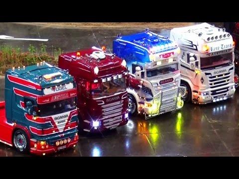 rc trucks lkw 1 3 truck course modellbaumesse leipzig. Black Bedroom Furniture Sets. Home Design Ideas