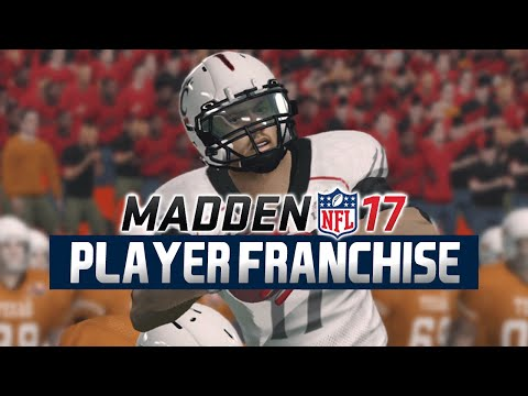 Madden NFL 17 - WR Player Franchise Ep. 1 - 2017 NFL Draft [Rookie Season]