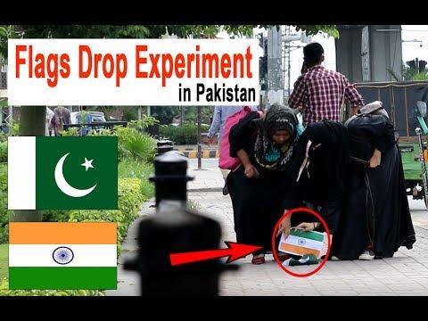 INDIAN FLAG VS PAKISTANI FLAG | FLAG DROPPING SOCIAL EXPERIMENT IN PAKISTAN | MIRCHI PRANK TV