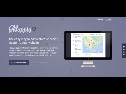 Mapply - Best Store Locator Website Plugin