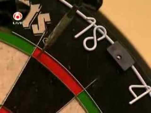 Michael van Gerwen 9 dart @ MOD 17 february 2007