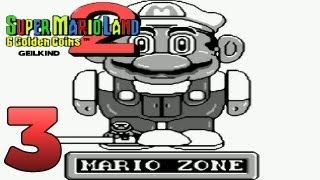 Let's Play Super Mario Land 2 - 6 Golden Coins Part 3: Die Mario Zone