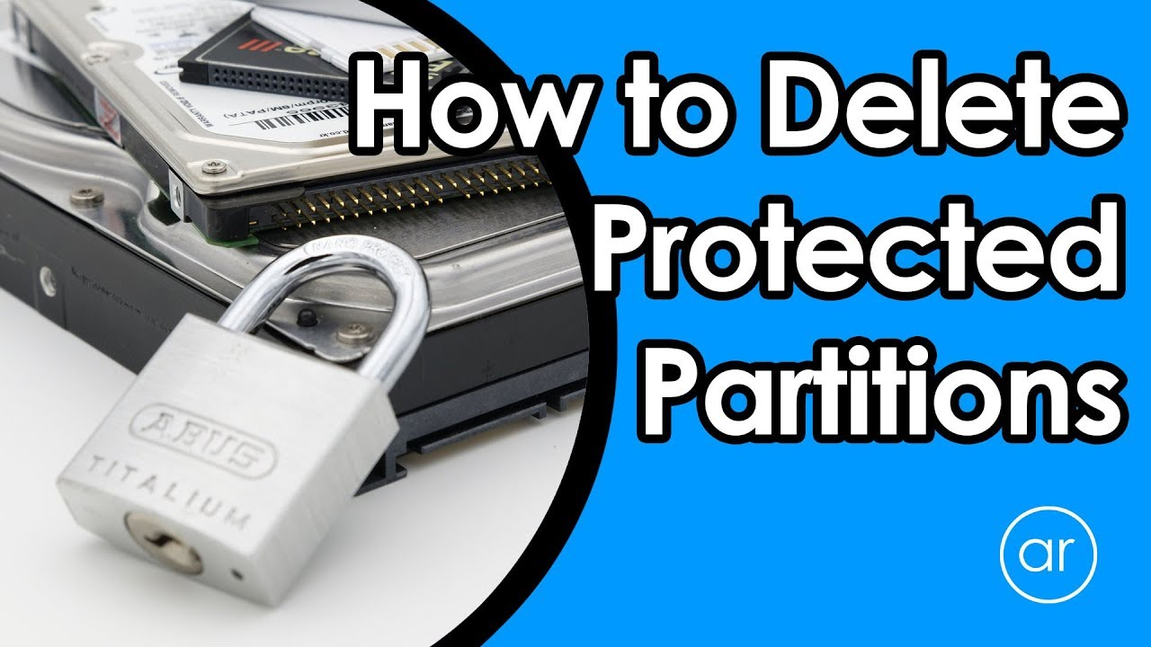 How to Delete the Undeletable using Diskpart (Disk Partition) in Windows 10