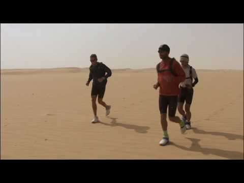 "Scene from RUNNING THE SAHARA - ""Given to Fly"""
