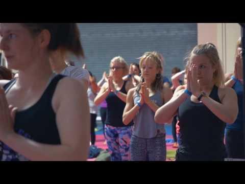 Om Yoga Show Highlights