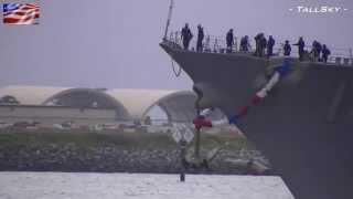 US Navy: USS Kidd (DDG-100) 2012 Homecoming - Welcome Home! (San Diego)