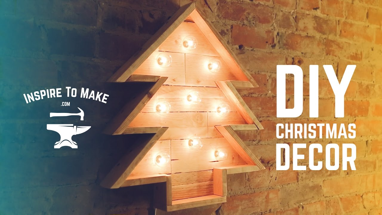 Pallet Wood Christmas Tree.Diy Pallet Wood Christmas Tree
