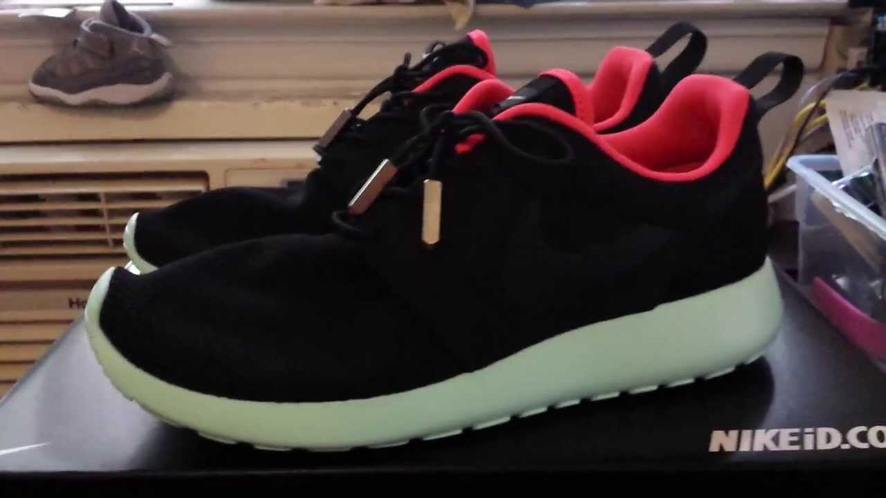 premium selection db843 16e4a NIKE ID AIR YEEZY 2 ROSHE RUN REVIEW - YouTube