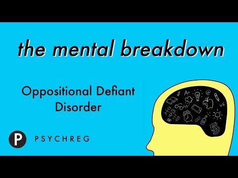 Disruptive Behaviors in Children with Oppositional Defiant Disorder