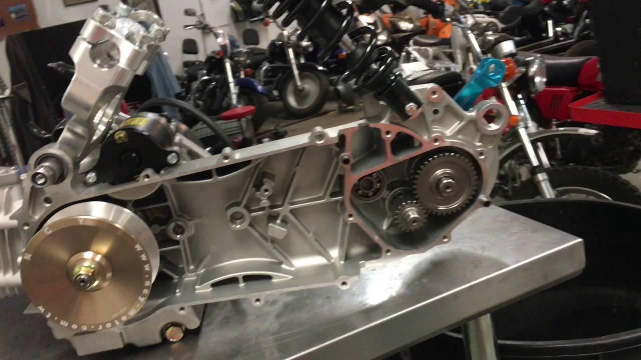Build Your Honda >> GY6 232cc Honda Ruckus / zoomer build - YouTube
