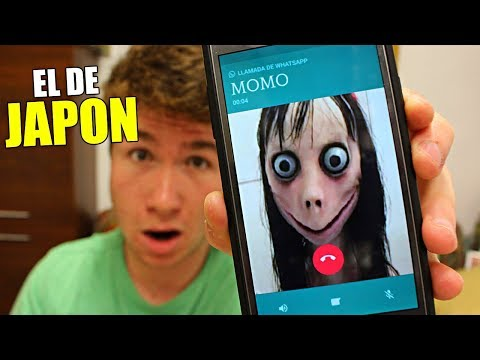 LLAMO AL NÚMERO DE MOMO REAL!! NÚMERO MALDITO DE WHATSAPP