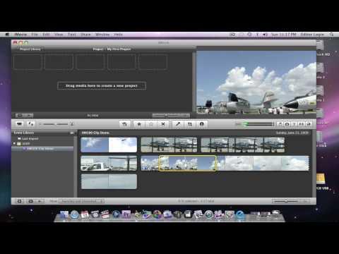 Tutorial: HM100/700, .MOV & iMovie '09