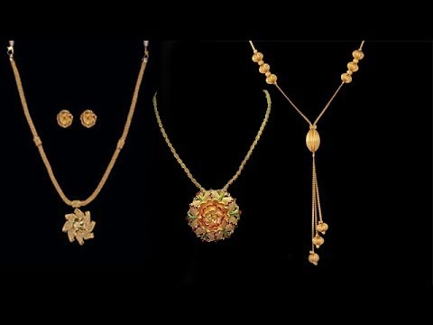 Latest simple gold necklace designs 2017 youtube latest simple gold necklace designs 2017 aloadofball Image collections