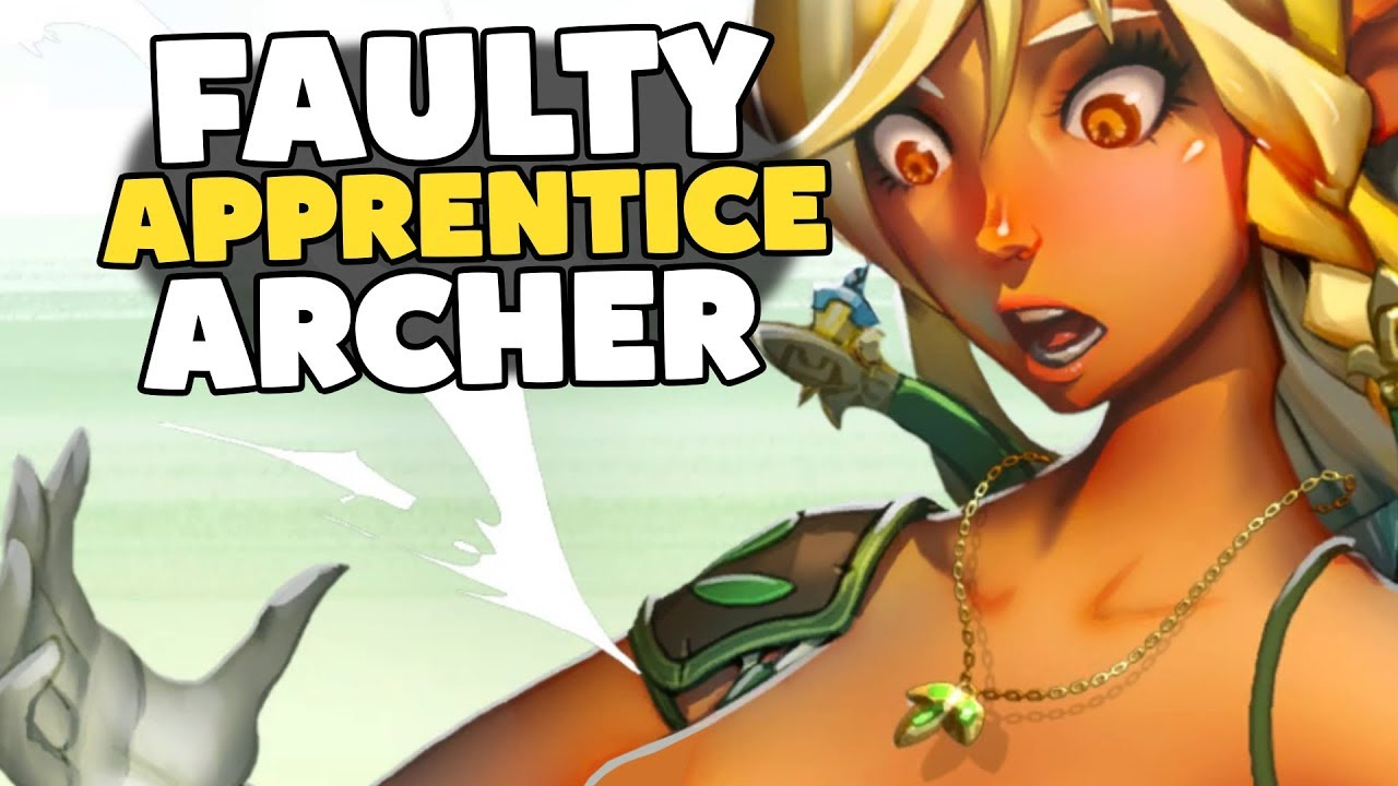 Faulty Apprentice Archery Training Gameplay - YouTube