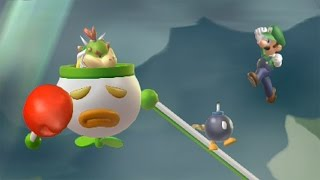 New Super Luigi U 100% Walkthrough Part 7 World 7 (7-1, 7-2, 7-3, 7-T, 7-G, 7-4, 7-5, 7-6, 7-C, 7-A)