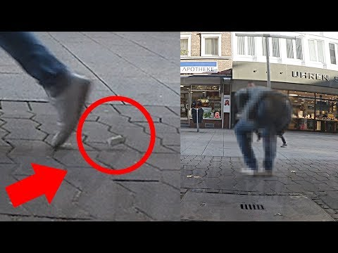 Geld auf der Straße fallen lassen 2 Soziales Experiment 💰Artur Iz Da