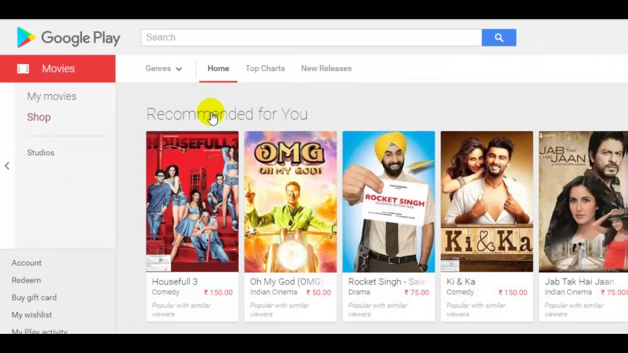 How To Rent, Buy And Watch Movies In Google Play Store -9098