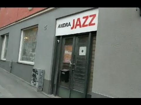 a JAZZ WHISTLER @ Stockholm's ANDRA JAZZ Record Shop