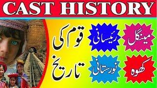 Raisani Caste History || Mengal Cast History || Kho Caste History || Nutistanis Cast History