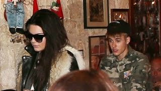 Kendall Jenner And Justin Bieber Caught Parting Together