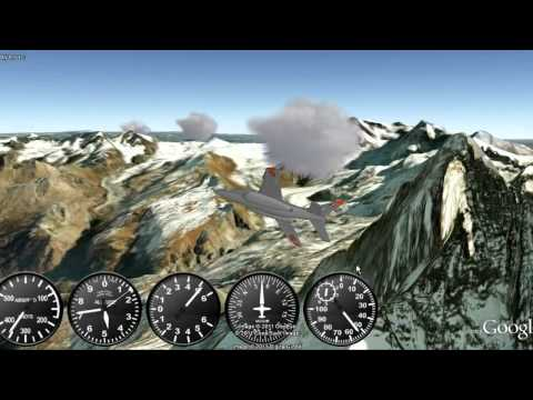 GE Flight Simulator: Mountains - Session 1