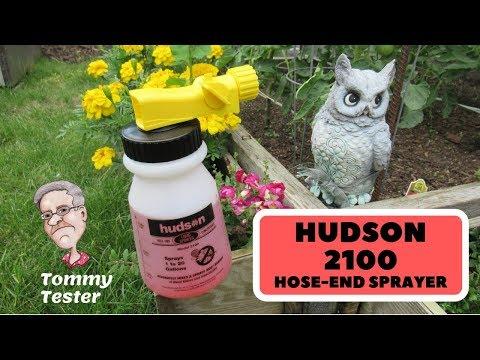 Hudson 2100 Hose-End Sprayer | Calibration for Lawn use