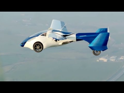 AeroMobil 3.0 Flying Car Test Flights [1080p]