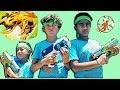 X-Shot Flying Bug Attack | Not A NERF Blaster Set Part 2 The Hunt for Bugaboo Kids Nerf War