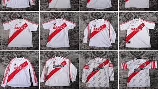 Todas las camisetas de River plate que tenia hasta 2017