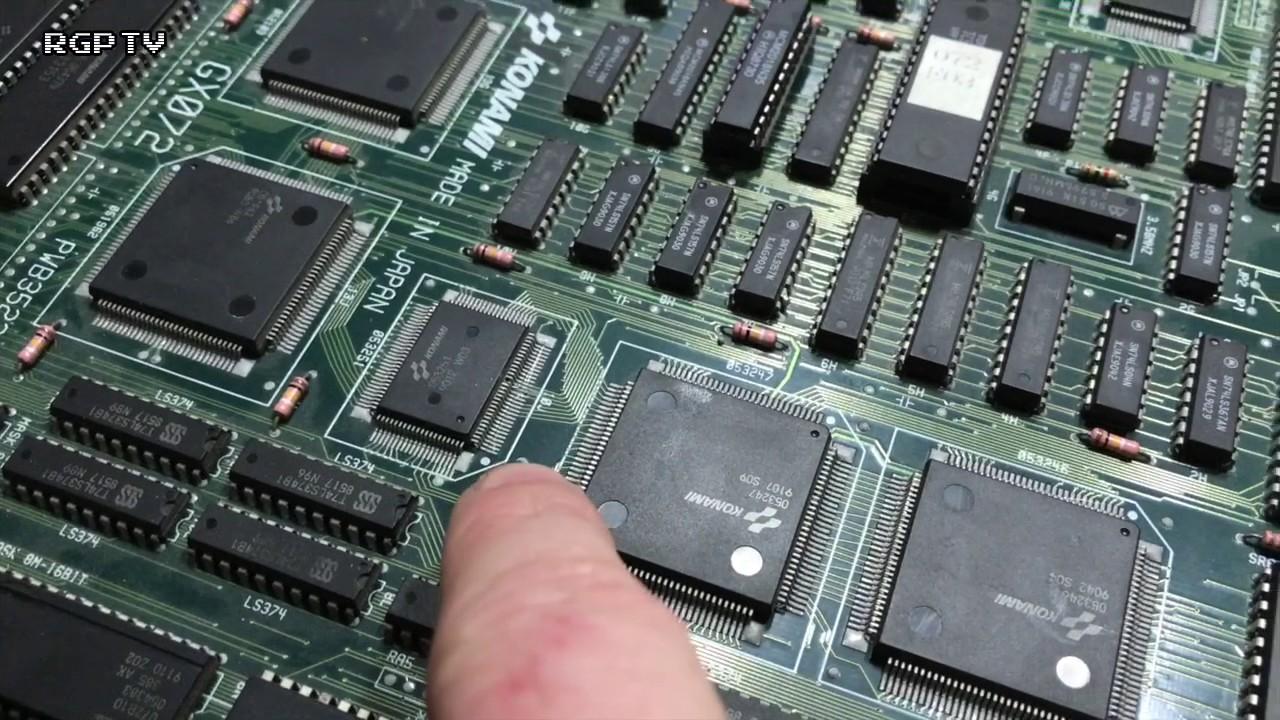 Konami's The Simpsons Arcade PCB Repair