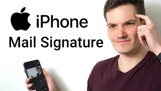 How to Add Mąil Signature on iPhone