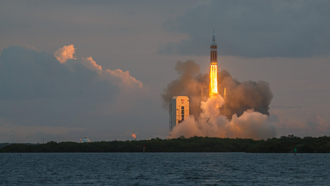 NASA Orion EFT-1 Launch December 5, 2014 - YouTube