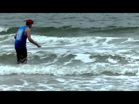 Nc shark fishing six ft plus tiger shark may 2015 youtube for Shark fishing nc