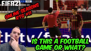 IS FIFA A FOOTBALL GAME OR WHAT? - FIFA 21 ONLINE SEASONS RTG #11