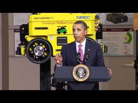 President Obama Launches Partnership at CMU