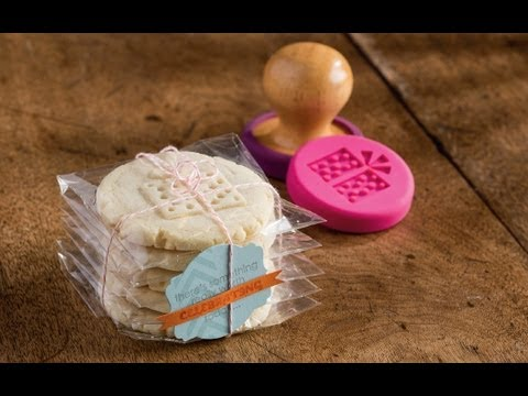 Sweet Pressed Cookie Stamps By Stampin Up
