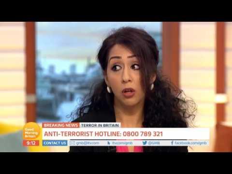 Sajda Mughal OBE appears on ITV's Good Morning Britain - June 2017