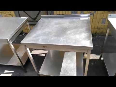 Производство столов из нержавеющей стали 800*700*850 мм
