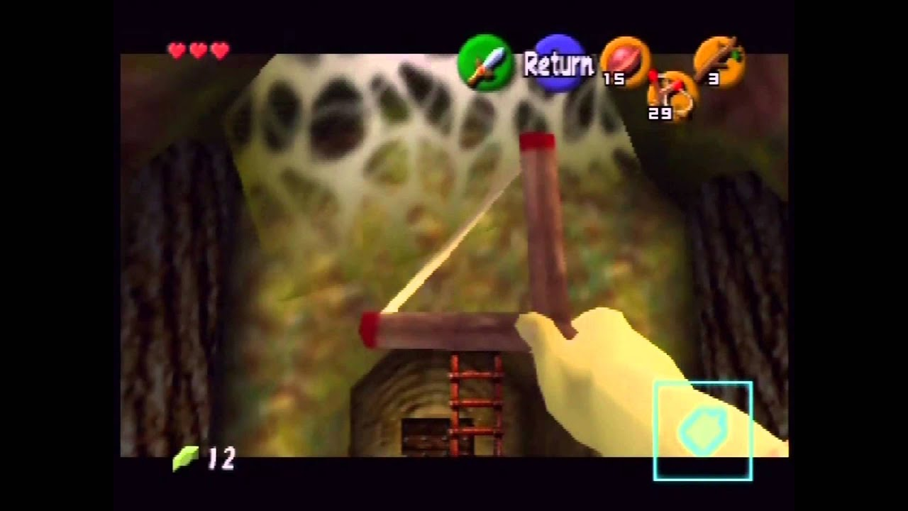 The Legend of Zelda: Ocarina of Time Playthrough (Actual N64 Capture) -  Part 1