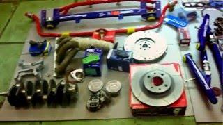Lada Granta Sport - увеличение объема двигателя: 1,6 л ~ 1,8 л (трейлер)