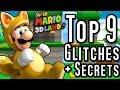 Super Mario 3D Land TOP 9 GLITCHES & Secrets (3DS)