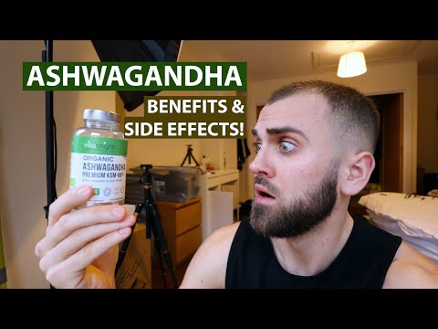 Ashwagandha: Benefits, Side Effects, Dosage | STRESS & ANXIETY!