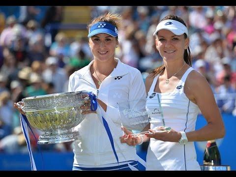 2015 Aegon International Eastbourne Final WTA Highlights | Belinda Bencic vs Agnieszka Radwanska