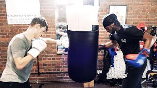 INSIDE Matchroom Elite Boxing Gym: EXCLUSIVE TRAINING with Tony Sims' team