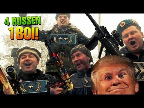 4 RUSSEN + 1 BOI = Die ulitmative Eskalation! | CSGO