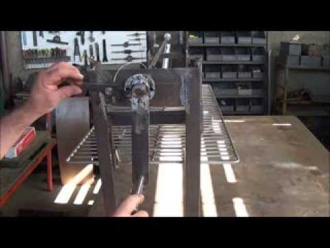 mecanismo parrilla para asados