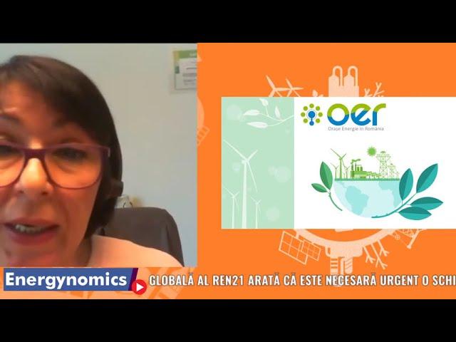 EnergynomicsTalks  - Camelia Rață, Oraşe Energie în România – OER