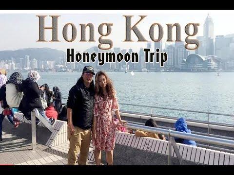 Dhiraj Rai and  Bhawana Rana   / Honeymoon Trip / Hongkong