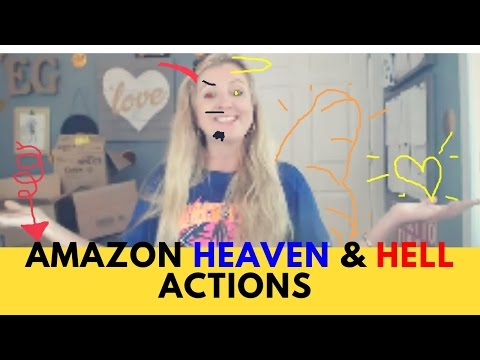 Amazon Heaven & Hell Actions  | 16 tips of what to DO and NOT to do